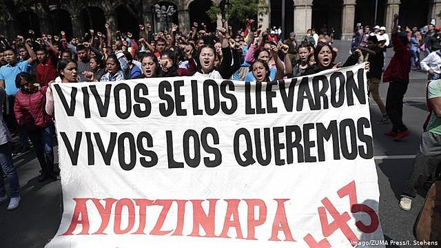 Los 43 estudiantes desaparecidos de Ayotzinapa