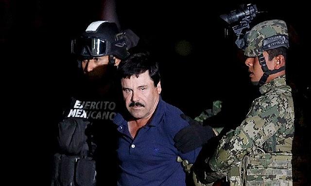 Otro arresto del Chapo