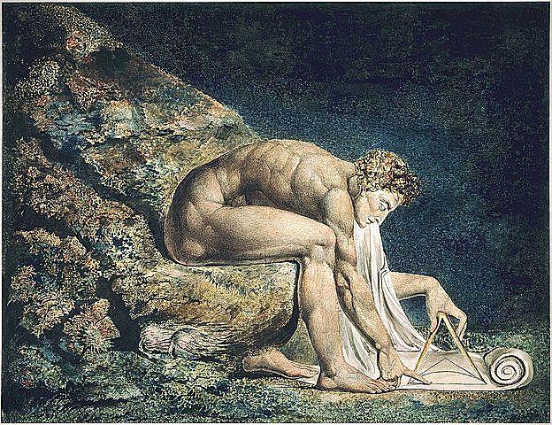 William Blake: ´´Newton´´