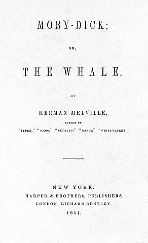 Herman Melville: ´´Moby Dick´´