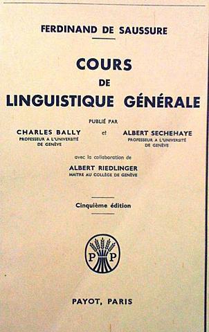 Курс общей лингвистики Ф. де Соссюра