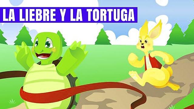 """""""La liebre y la tortuga"""";Esopo"""