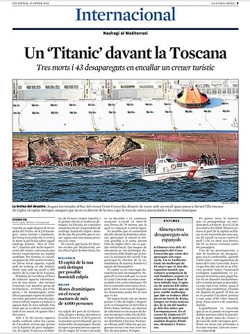 Creuer Costa Concordia