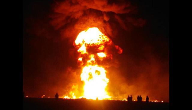 Explosión en Tlahuelilpan, Hidalgo