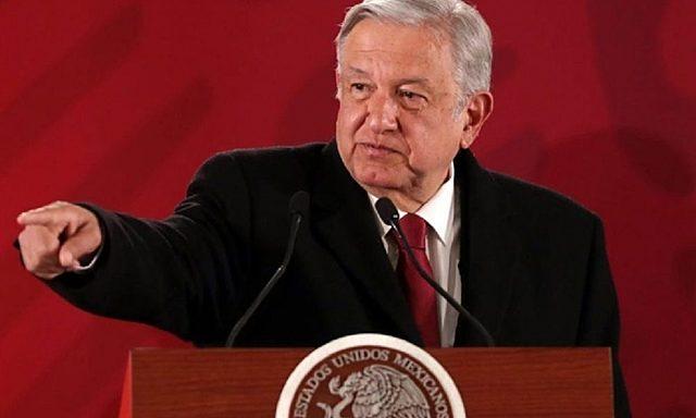 López Obrador dio un informe a los ciudadanos sobre cómo progresaba su gobierno.