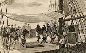 SLAVERY BEGAN