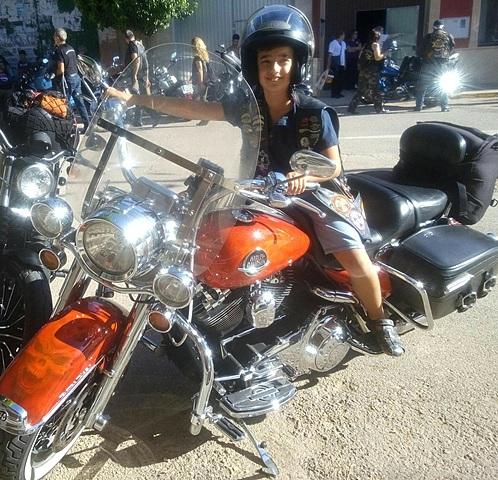 Concentració de motos Harley Davidson