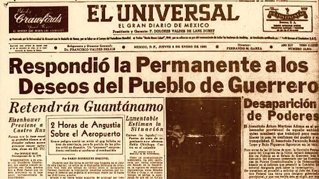 Estalla en Chilpancingo una huelga estudiantil,