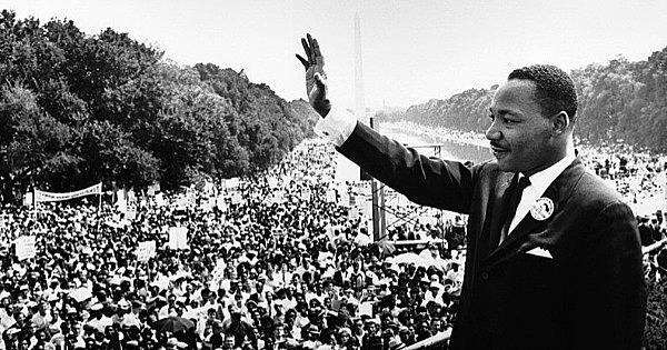 """Se pronuncia el """"I have a dream"""" de Martin Luther King"""