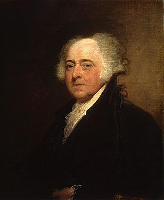 John Adams. The second president of the USA