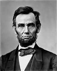Abraham Lincoln took the oath of office as President of the US.