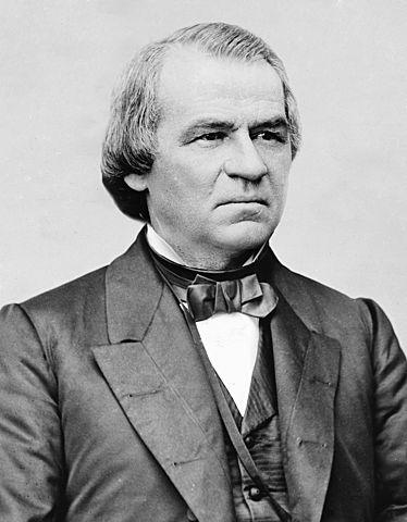 Andrew Johnson assumed the presidency