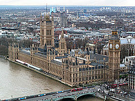 Fin de la construccion de Westminster