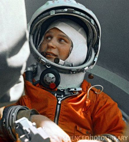 1st woman in space