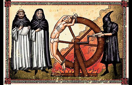 Els Reis Catòlics van crear el tribunal de la Santa Inquisició.