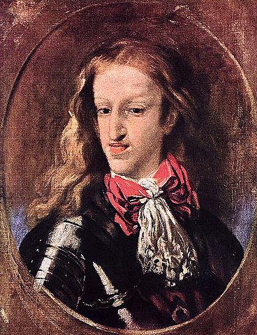 Carles II succeeix a Felip IV