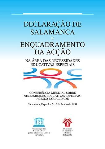 Conferência Mundial de Necessidades Educativas Especiais: Acesso e Qualidade