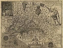 Map of Virgina
