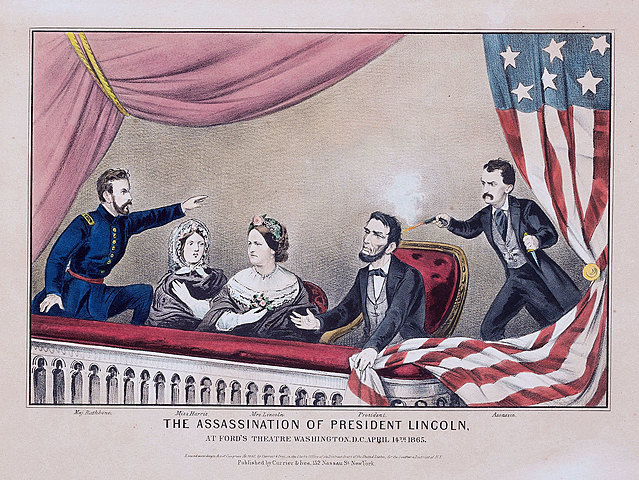President Lincoln was assassinated in Washington