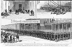 Congress withdrew federal troops from the South