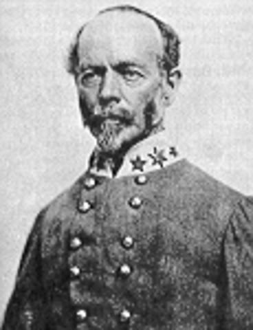 Joseph E. Johnston Becomes Commander