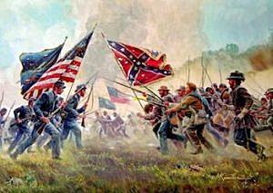 The beginning of The Civil War.