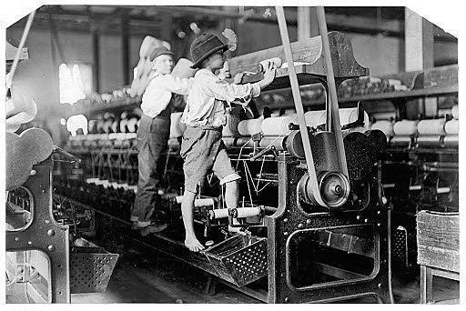 Legislación de fabricas francesas (trabajo para niños)