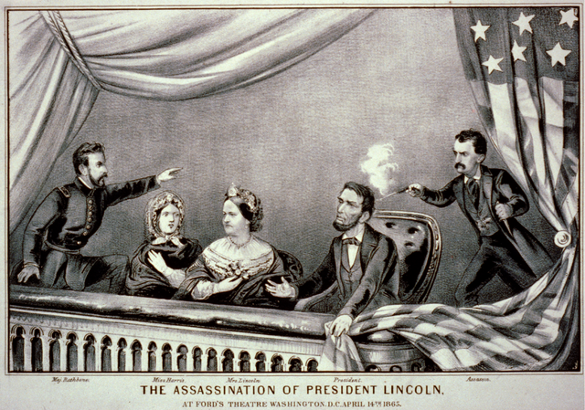 lincoln assassinated