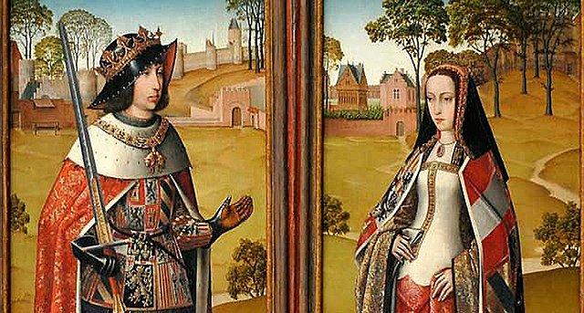 Casament de Joana I de Castella (la boja) amb Felip I de Castella (el bell)