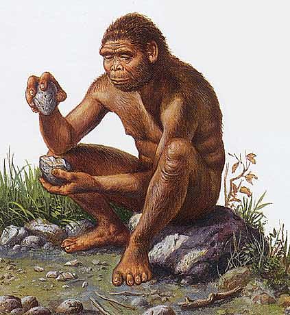Homo erectus hace 1 millon de años
