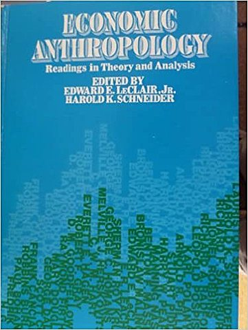 Economic Anthropology: Obra Formalista