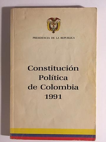 La nueva constitucion politica de colombia