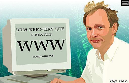 Tim Berners Lee, de la CERN crea la primera página web