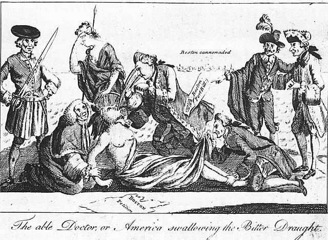 The Coercive/ Intolerable Acts