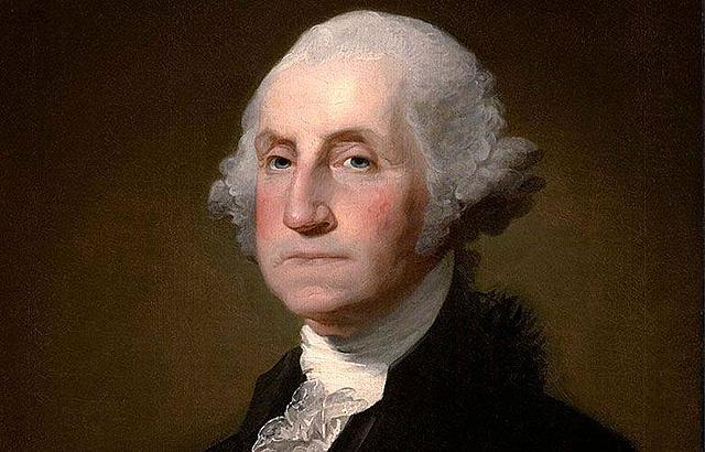 George Washington becomes the 1st president