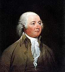 John Adams becomes president of US