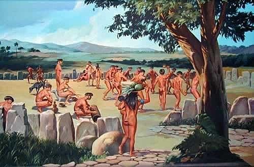 Llegada de los Banwarroides a la isla
