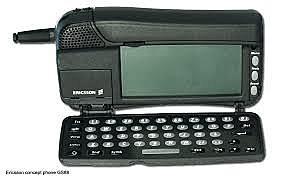 El primer teléfono con navegador.