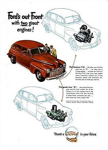 Ford motores 6 cilindros