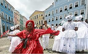 Viajo a San Salvador de Bahia