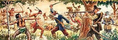 War between Plymouth, Saybrook, Pequot Indians