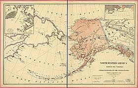 Alaska Territory acquired