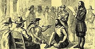 Narragansett Indians Peace Treaty