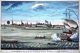 New Amsterdam to New York