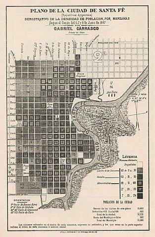 Expansión del espacio urbano.