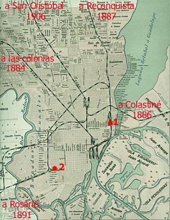 La consolidación del Ferrocarril en la ciudad.