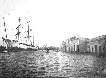 Un puerto de ultramar.