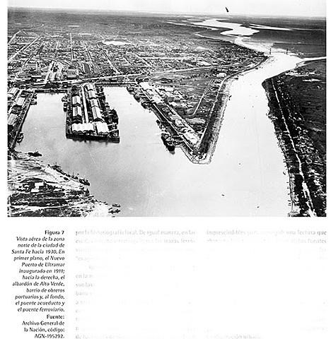 1911 Nuevo puerto de ultramar a tres cuadras de la calle principal.