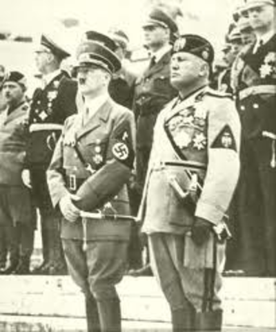 Italy Declares War on Germany and Austria
