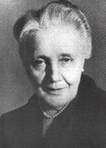 Melanie Klein (1862-1960)